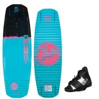 Komplet wakeboard Obrien Fremont + Clutch (wakepark)