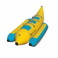 Profesjonalny dmuchany banan 3 osobowy (do użytku komercyjnego)