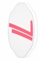 Deska skimboard Gopher Twin Tip white pink