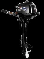 Silnik zaburtowy Parsun 2.6 HP - rodzaj kolumny: krótka, sterowanie trymu: manualne, rumpel, rozruch: manualny,