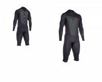 Pianka neoprenowa męska ION Element Overknee LS 4/3 DL (backzip) black
