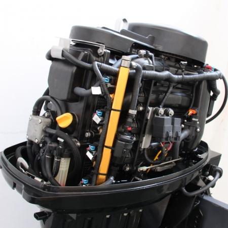 Silnik zaburtowy do łodzi Parsun 60 HP - sterowanie trymu: elektryczne, manetka, rozruch: stacyjka, rodzaj kolumny: długa