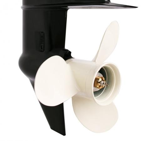 Silnik zaburtowy Parsun 15 HP - rodzaj kolumny: krótka, sterowanie trymu: manualne, rumpel, rozruch: elektryczny