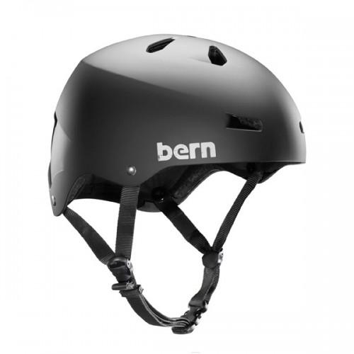 Kask do sportów wodnych Bern Macon H2O Matte Black