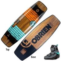 Komplet wakeboard Obrien Indie + GTX (wakepark)