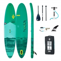 Deska SUP board Aquatone Wave PLUS 12' + wiosło + smycz