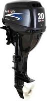 Silnik zaburtowy Parsun  F20AFWS - sterowanie trymu: manualne, manetka, rozruch: elektryczny, rodzaj kolumny: krótka