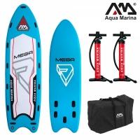 Deska SUP board Aqua Marina Mega + 5 wioseł