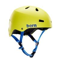Kask do sportów wodnych Bern Macon H2O Matte Neon Yellow