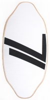 Deska skimboard Gopher Twin Tip white