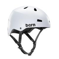 Kask do sportów wodnych Bern Macon H2O Satin White