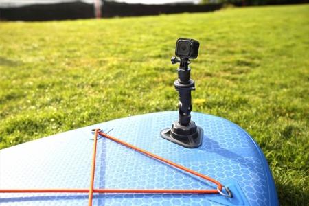 Zestaw do montowania kamery sportowej na desce SUP wraz z wysięgnikiem